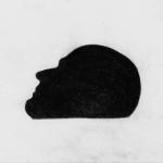 o.T. (schwarzer Kopf)